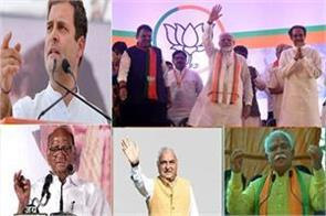 election campaign ends for maharashtra and haryana voting on 21st