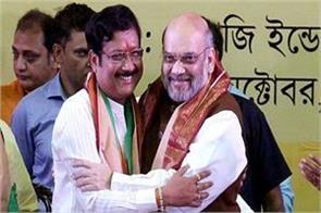 west bengal one more blow to tmc mla sabyasachi dutta joins bjp