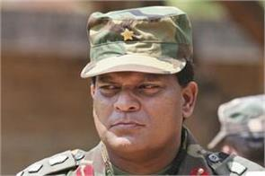 sri lankan army chief engulfed in controversy over election advertisement