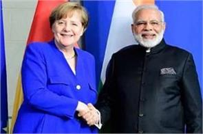 chancellor angela merkel of germany will visit india on november 1