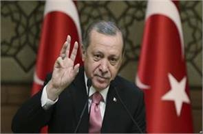 if the agreement is not followed the campaign will resume in syria erdogan