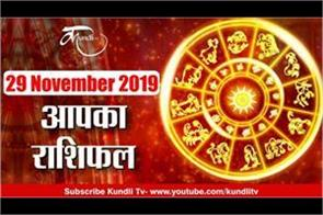 today horoscope of 29 november