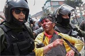 violent protests in bolivia us issued advisory to its citizens
