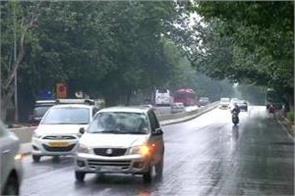 delhi breath returned due to rain air cleared