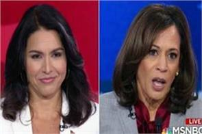 tulsi and kamla clashed on live tv video viral