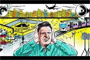 study will be done for 1 year to stop noise pollution in gurugram faridabad