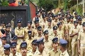 tight security arrangements before the verdict on the sabarimala temple