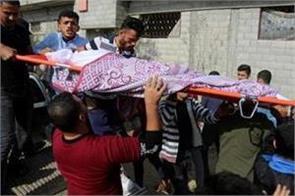 six family members killed in israeli airstrike on gaza