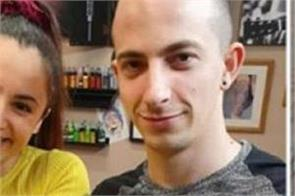 man proposes to girlfriend with will you marry me chest tattoo