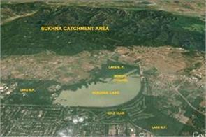 construction in sukhna catchment area to be considered illegal high court