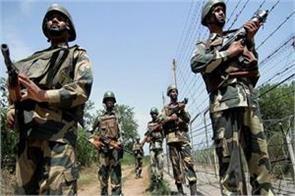 pak again breaks ceasefire firing at forward posts in poonch