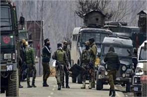 two terrorists killed in pulwama encounter firing continues night