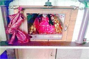 thieves created panic durga s jewelry donation vessel