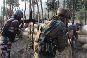 pak heavy fire breaking ceasefire krishna valley jawan injured