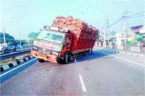 rohtak panipat national highway lane obstructed for 8 hours