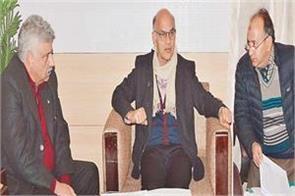 advisor sharma reviews power scenario kashmir officials failures