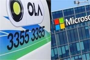 ola and microsoft research agreement for air pollution study in delhi
