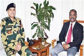 bsf jamwal advisor farooq khan meets moormoo discuss development issues