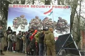 army gathered bsf recruitment srinagar country service