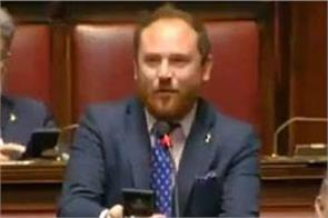 italian politician proposed girlfriend in the middle of parliament session