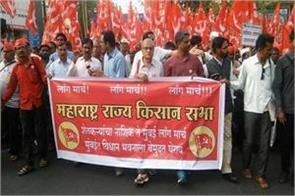 if rain affected farmers do not get help they will protest soon kisan sabha