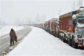 srinagar leh highway closed again after fresh snowfall route open after 6 days