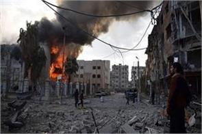 car bombings in syrian border town at least 13 people killed