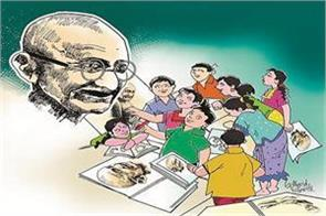 mahatma gandhi s ideas will make  best india