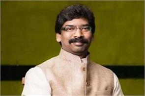 hemant soren takes oath and opposition shows strength