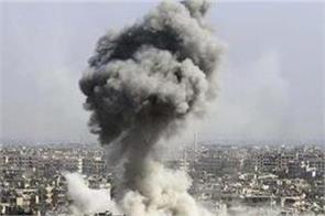 23 civilians killed in in syria bombing