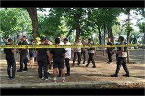 2 injured in grenade blast at jakarta park