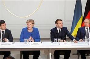 normandy four agree to stabilize eastern ukraine in paris