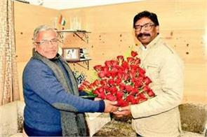 harivansh congratulated hemant soren