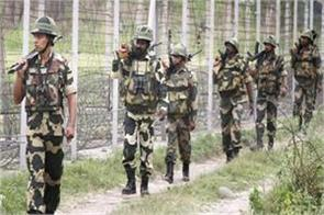the attempt to infiltrate pakistan s border failed bsf killed the intruder