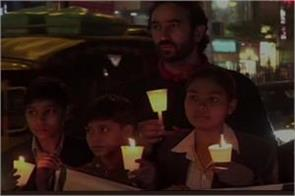 haryana former hockey player ajit pal nandal candle march