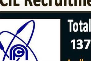 npcil recruitment 2020 for 10th graduate pass salary rs 21 700