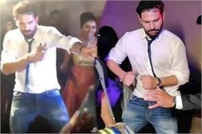 yuvraj singh dances on punjabi songs at manish pandey s wedding video