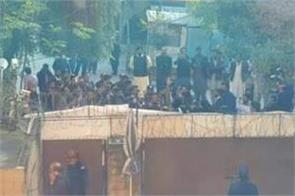 angry mob besieges pak daily s offices for terming london attacker pakistani