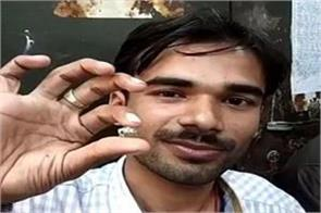 glitter young man panna a young man found diamond rs 70 lakh digging