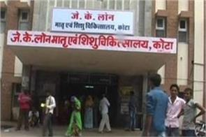 kota hospital superintendent removed in case of 77 child death