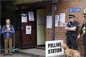 voting begins for uk general election