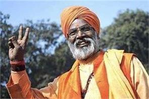 sakshi maharaj congratulates kuldeep singh sengar birthday of