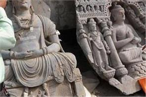 islamabad museum puts rare statue of lord buddha s