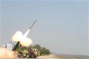 successfully testing pinak guided rocket in odisha