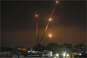 israel strikes gaza targets in response to sderot rocket fire