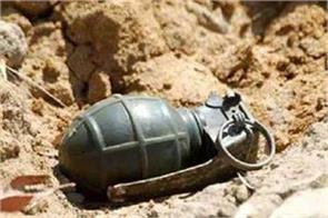 ph e inactive grenade recovered from outside the filling station