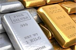 gold fell by rs 200 and silver by rs 235