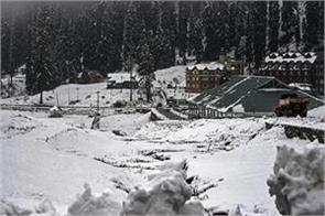fresh snowfall high altitude ladakh department issues orange alert