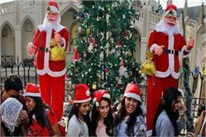 best christmas celebration in india