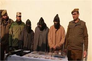 srinagar police busted gang robbers used target truck drivers